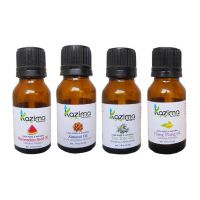 Combo-Watermelon Seed, Almond, Tea Tree & Ylang Ylang Oil-Hair Care-By Kazima