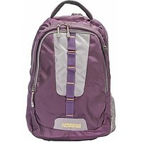 Fastrack A0325Npr01 Free Size Backpack (Purple)