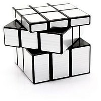 BANG BANG Mirror Cube - ShengShou Mirror Cube SILVER 3x3x3 Magic Cube