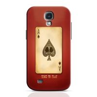Time To Play Cards Phone Case For Samsung Galaxy S4