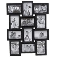 12 In 1 Black Collage Photo Frame