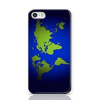 Green And Blue World Phone Case For Apple Iphone 5S And Iphone 5