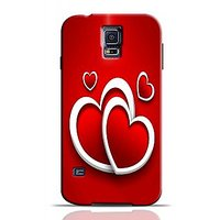 Red Hearts Phone Case For Samsung Galaxy S5 S5C0151