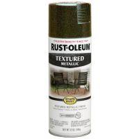 Rust-Oleum Stops-Rust Textured Metallic Spray Paint - Mystic Brown