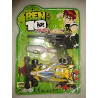 Ben 10 Kids Car And Pistol Ball Aim The Target Game.