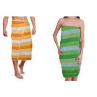 Pack Of 2 Cabana Bath Towel 26x53 Inch - Combo Pack