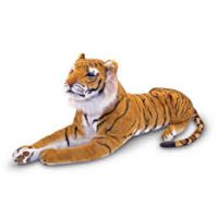 Product Summary Of Mayvel Brown Tiger Stuffed Animal Soft Toy