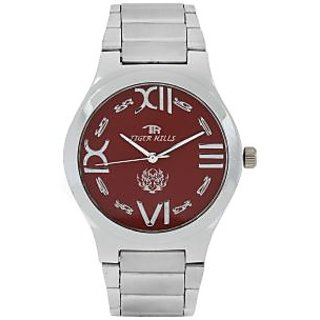 TIGERHILLS 3D STAINESS STEEL WATCH FOR MEN - 75597370