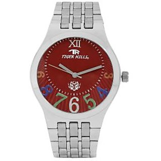 TIGERHILLS 3D STAINESS STEEL WATCH FOR MEN
