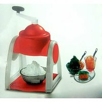 Radhe Gola Maker Slush Maker Ice Crusher For Summer Picnic Parties Plastic Body