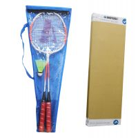 Badminton Set Of 2 Racquet + Cover + Shuttlecock