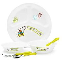Corelle Kids Collection Happy Day 6 Pcs Dinner Set