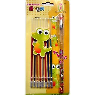 8 In 1 Fruity Smell Glitter Ball Pen