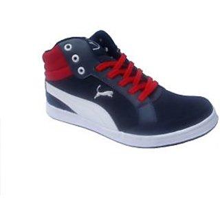 Men's YK UNIQUE CBS Casual Shoes 2460 Blue White Red