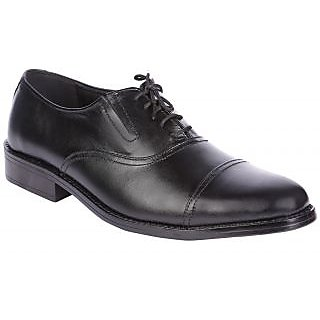 Karizma Men's Black Formal Leather Lace Up Shoes - 75718346