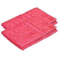 Pipal Hand Towel Set Of 2 Pcs Dark Pink