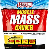 LABRADA Muscle Mass Gainer 12LBS