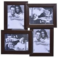 "Arts & Kraft-Brown Collage Photo Frame, Photo Frame ( 5""X7"") 4 Photos"