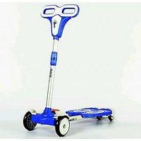4 Wheel Zip Flick Style Double-board Self Propelled Foot Scooter For Kids