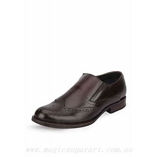 Men's Brown Leather Formal Shoes