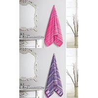 Cotton Bath Towel - Set Of 2