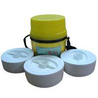 Khana Khazana Microwave safe Lunch Box With 3 Food Grade Containers