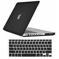 Tuzech Hard Rubberized Case For Macbook Pro 13 With Keyboard Skin