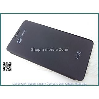 ClickAway MICROMAX CANVAS FUN A76 FLIP COVER HIGH QUALITY available at ShopClues for Rs.195