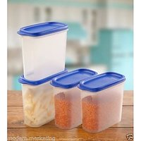 Tupperware Smart Saver MM Oval # 3 1.7 Ltr - 4Pcs Set 4PCS SET | 100% ORIGINAlL