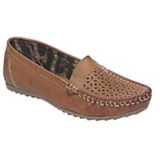 TEN Auspicious Women'S Leather Loafers