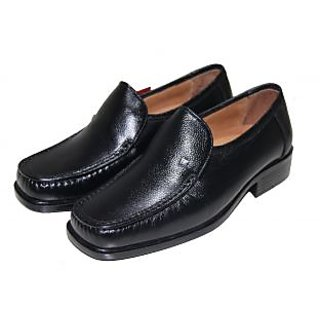 D-Style Men's Leather Slip-On Moccassion  Shoes