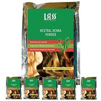 Pack Of 6 Lass Naturals NATURAL HENNA POWDER