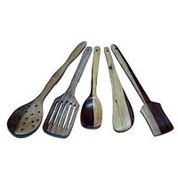 Wooden Kitchen Tool Set Of 5 Pieces From IDeals
