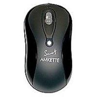 Amkette Black Optical Mouse SX-4 (PS2)