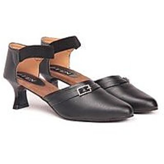 Ten Black Women's Formal Sandals