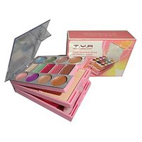 T Y A Make- Up Kit With 13 Color Eye Shadow And 2 Compact Powder And 2 Lip Color
