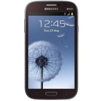 Samsung Galaxy Grand Duos (GT-I9082) Brown (Double Flip)