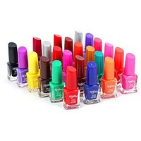 Foolzy Pack Of 24 Different Nail Polish Paint - 77089992