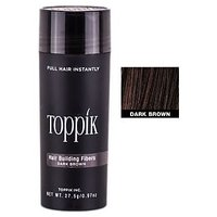 Toppik Hair Building Fiber - Black 27 Gm Big Bottle 0.97 Oz 27 Grams