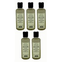 Hair Shampoo - Herbal - Honey & Vanilla Shampoo - Combo Pack Of 5 - By Khadi
