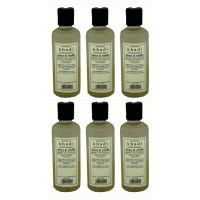 Hair Shampoo - Herbal - Honey & Vanilla Shampoo - Combo Pack Of 6 - By Khadi