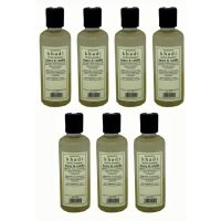 Hair Shampoo - Herbal - Honey & Vanilla Shampoo - Combo Pack Of 7 - By Khadi