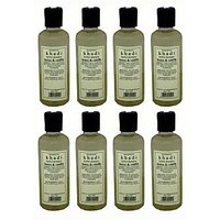 Hair Shampoo - Herbal - Honey & Vanilla Shampoo - Combo Pack Of 8 - By Khadi