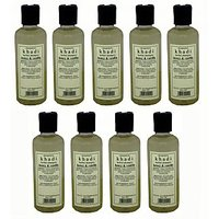 Hair Shampoo - Herbal - Honey & Vanilla Shampoo - Combo Pack Of 9 - By Khadi