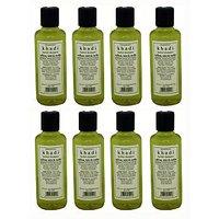 Hair Shampoo - Saffron, Tulsi & Reetha Shampoo - Combo Pack Of 8 - By Khadi