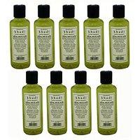 Hair Shampoo - Saffron, Tulsi & Reetha Shampoo - Combo Pack Of 9 - By Khadi