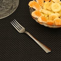 Pebbleyard Designer Disposable Forks Silver