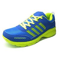 ANR Speed Royal Blue And Green Mens Sports Shoes