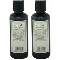 Khadi Herbal Shikakai Shampoo - Combo (Pack Of 2)