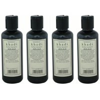 Khadi Herbal Shikakai Shampoo - Combo (Pack Of 4)